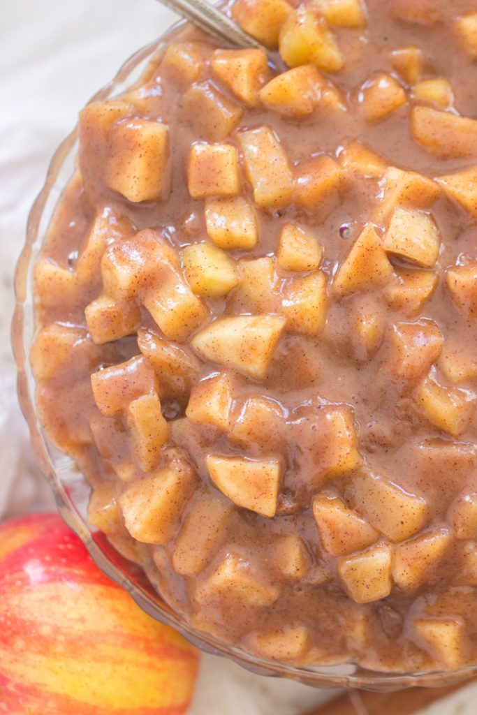 Fireball Crock-Pot Cinnamon Apples recipe image thegoldlininggirl.com 9
