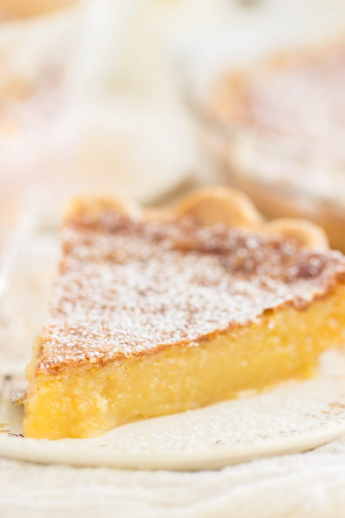 Maple Chess Pie recipe image thegoldlininggirl.com 10