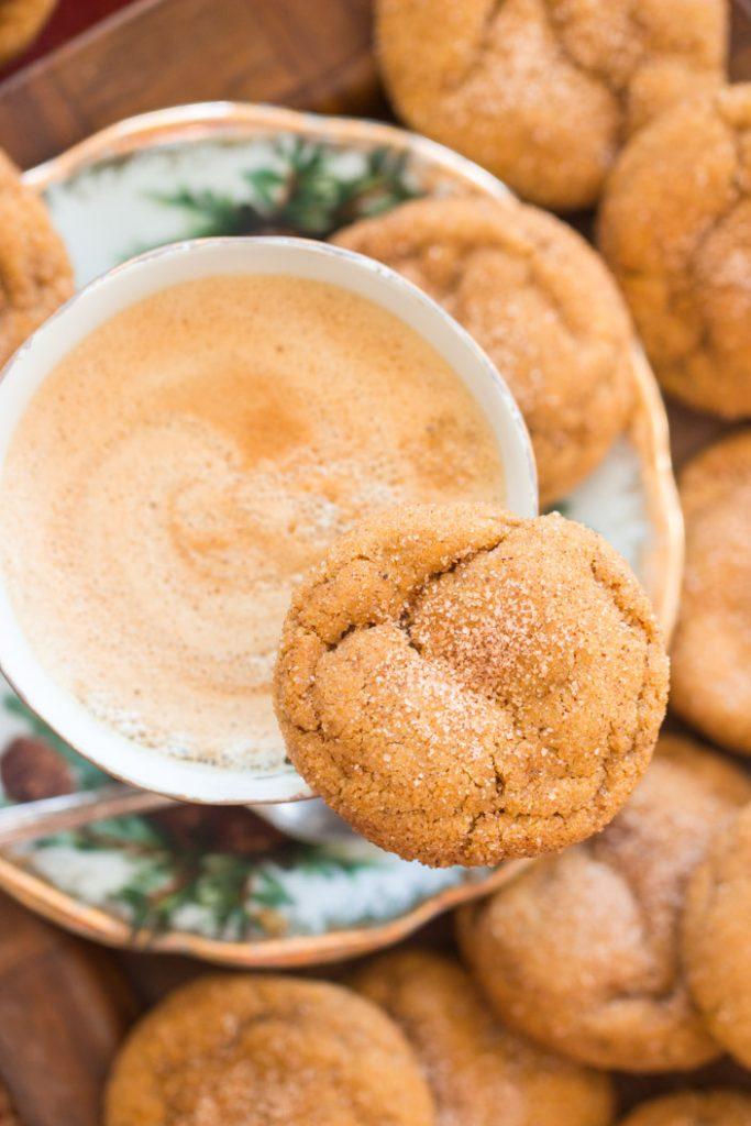 Pumpkin Snickerdoodles recipe image thegoldlininggirl.com 7