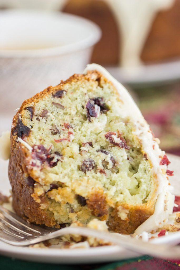White Chocolate Cranberry Pecan Pistachio Bread recipe image thegoldlininggirl.com 14