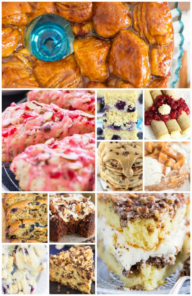 25 Sweet Brunch Recipes image thegoldlininggirl.com