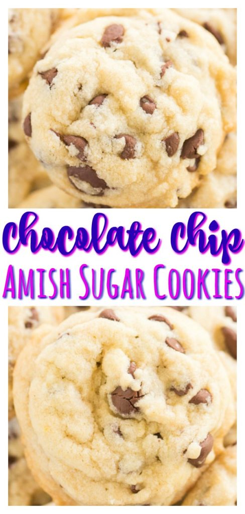 Chocolate Chip Amish Sugar Cookies recipe