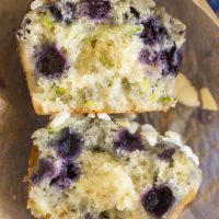 Blueberry Zucchini Muffins recipe