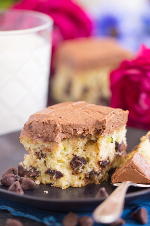 Chocolate Chip Zucchini Bars