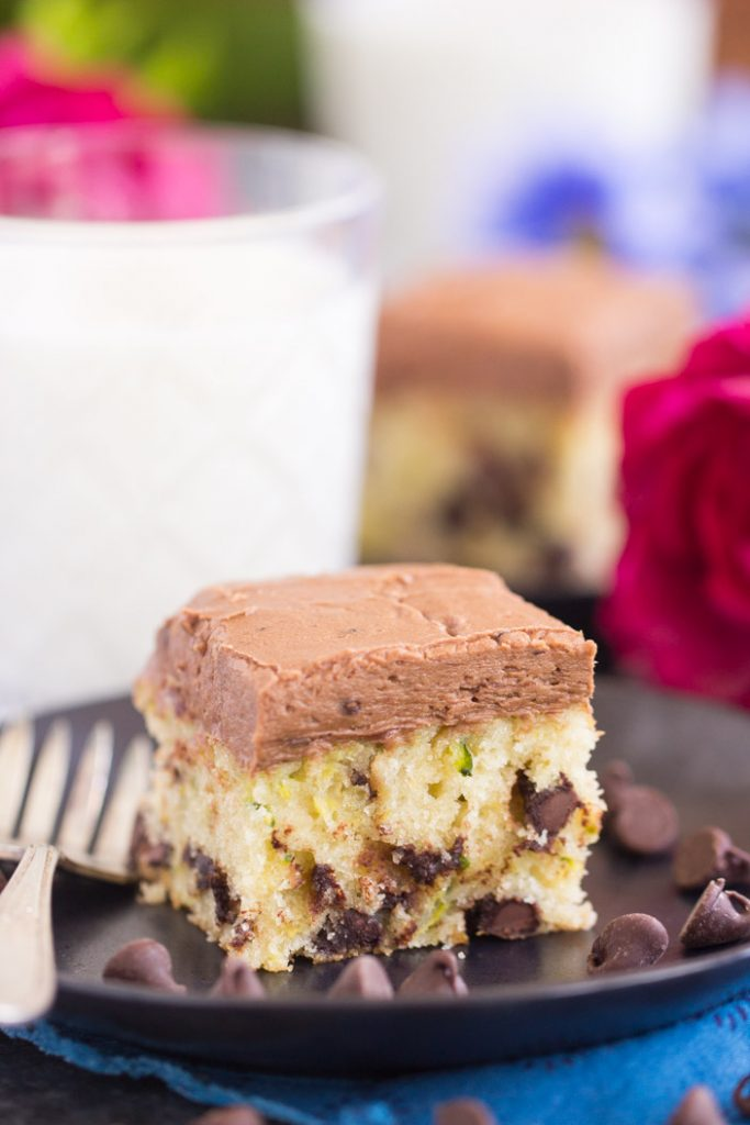 Chocolate Chip Zucchini Bars
