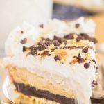 No Bake S'mores Peanut Butter Pie
