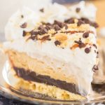 No Bake S'mores Peanut Butter Pie recipe