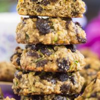Oatmeal Raisin Zucchini Cookies