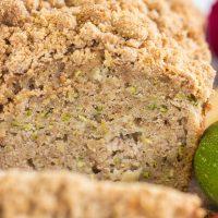 Streusel Apple Zucchini Bread