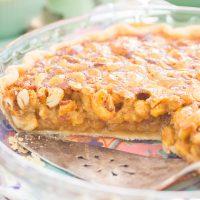 Honey Cashew Pie