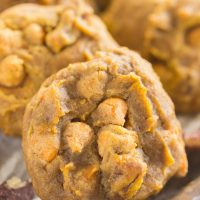 Butterscotch Pecan Pumpkin Cookies