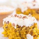 Pumpkin Hummingbird Cake with Cream Cheese Frosting