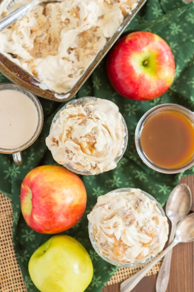 Apple Pie Ice Cream recipe