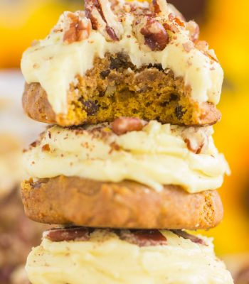 Butter Pecan Pumpkin Cookies recipe