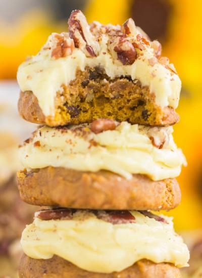 Butter Pecan Pumpkin Cookies recipe