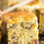 Chestnut Cornbread with Dates, Pecans, & Honey