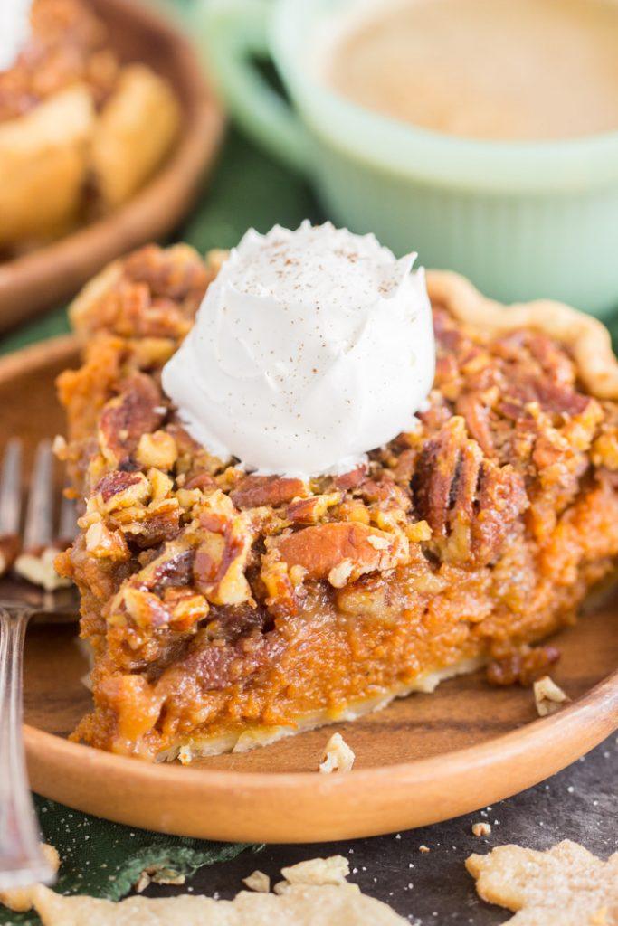 Pecan Pumpkin Pie recipe