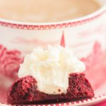 Red Velvet Thumbprint Cookies with Cream Cheese Frosting