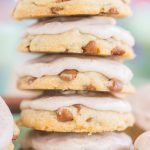 Snickerdoodle Amish Sugar Cookies with Cinnamon Icing