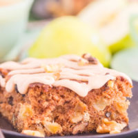 Old-Fashioned Apple Walnut Cake
