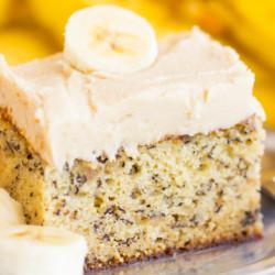 Banana Cake Brown Butter Icing recipe