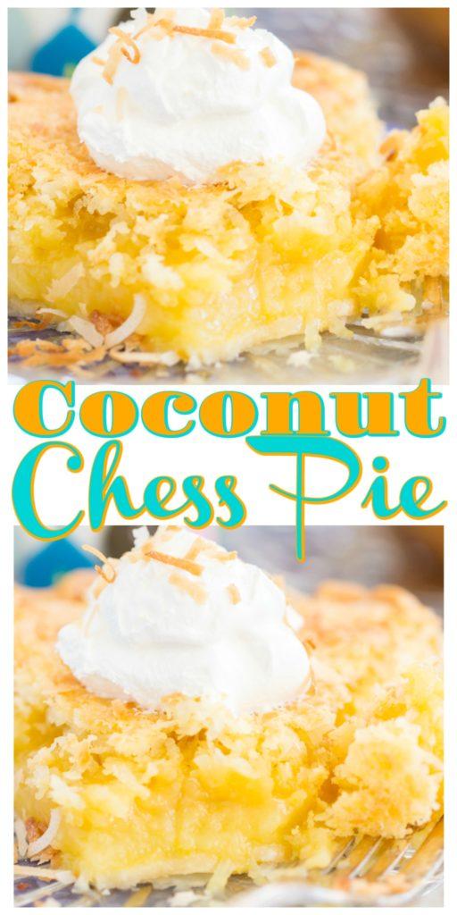 Coconut Chess Pie