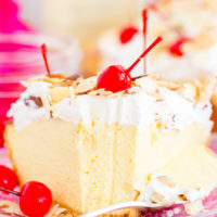 Amaretto Almond Cream Pie recipe