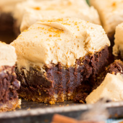 Biscoff Brownies with Cookie Butter Frosting recipe