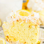 No Bake Coconut Lemon Cream Pie