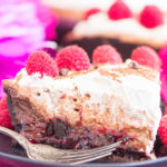 No Bake Raspberry Nutella Pie