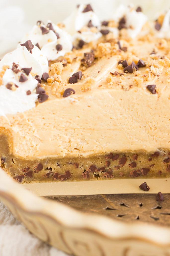 Chocolate Chip Cookie Pie Crust recipe
