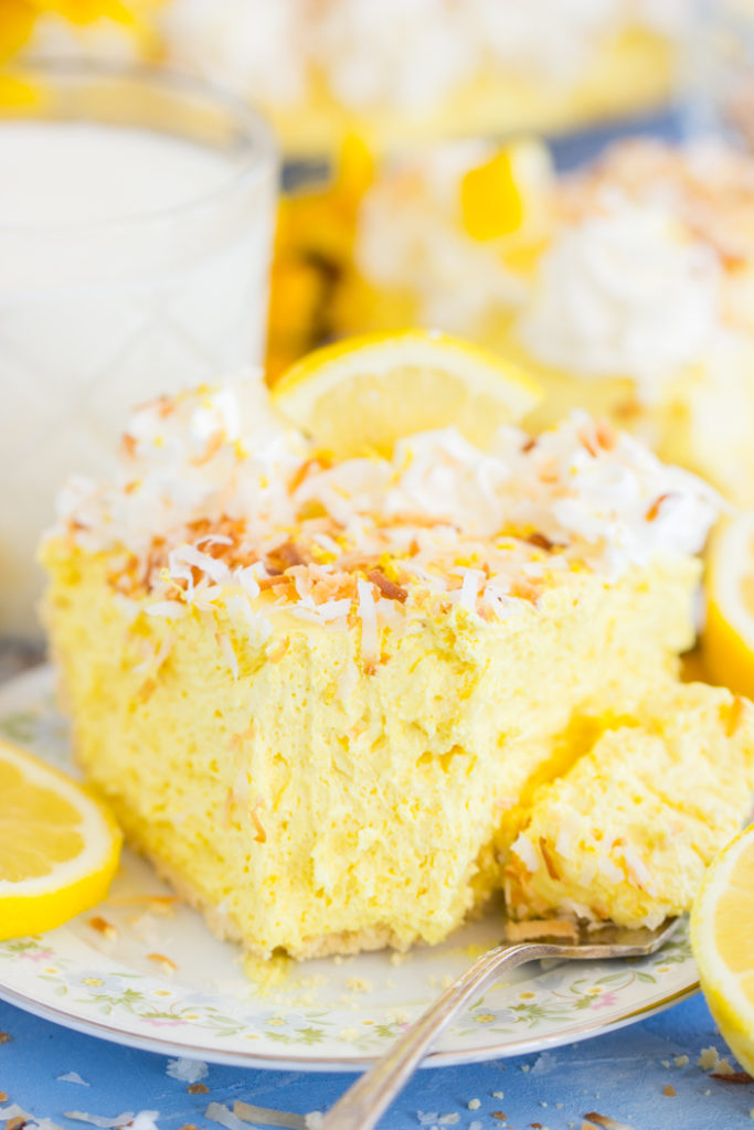 Coconut Lemon Cream Pie