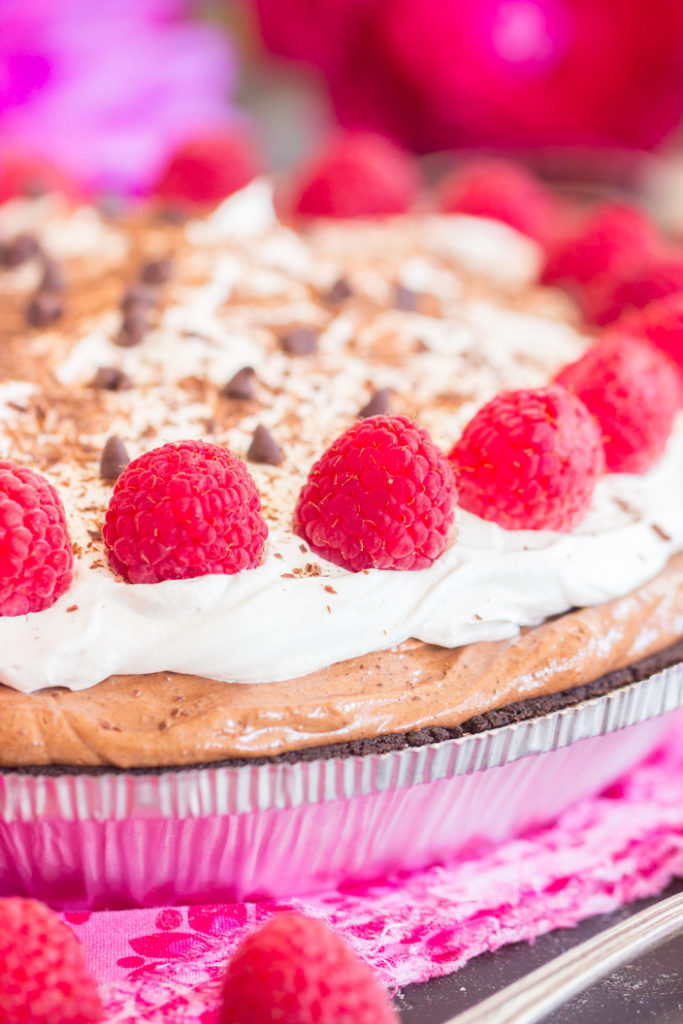 No Bake Nutella Pie