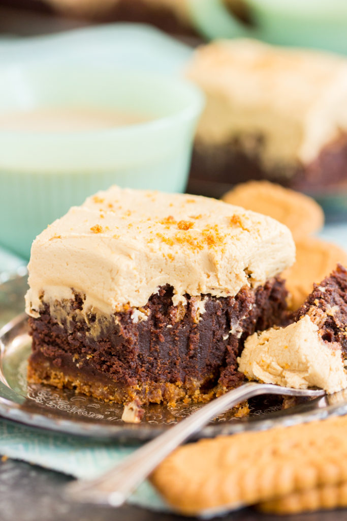 Cookie Butter Brownies Biscoff Brownies