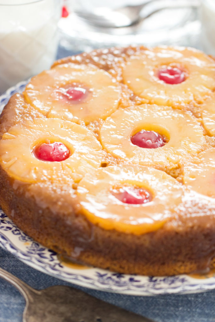 Pumpkin Pineapple Upside Down Cake