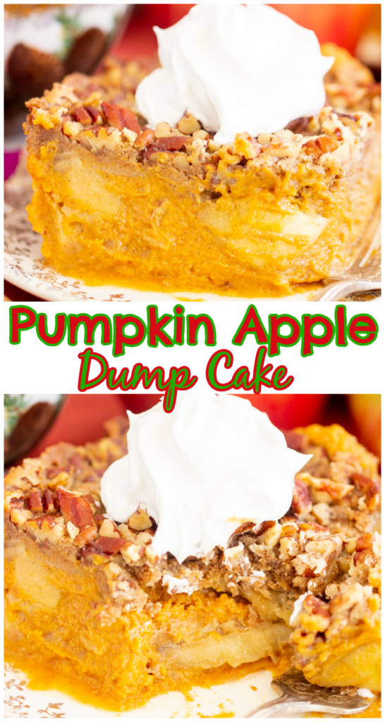 Pumpkin Apple Dump Cake